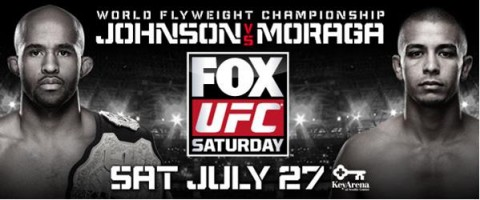 UFC® RETURNS TO KEYARENA AS SEATTLE'S 'MIGHTY MOUSE' JOHNSON DEFENDS HIS TITLE ON SATURDAY, JULY 27